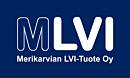 Merikarvian LVI-Tuote logo