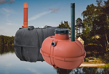 Jätevesiratkaisut mökille jopa -22%