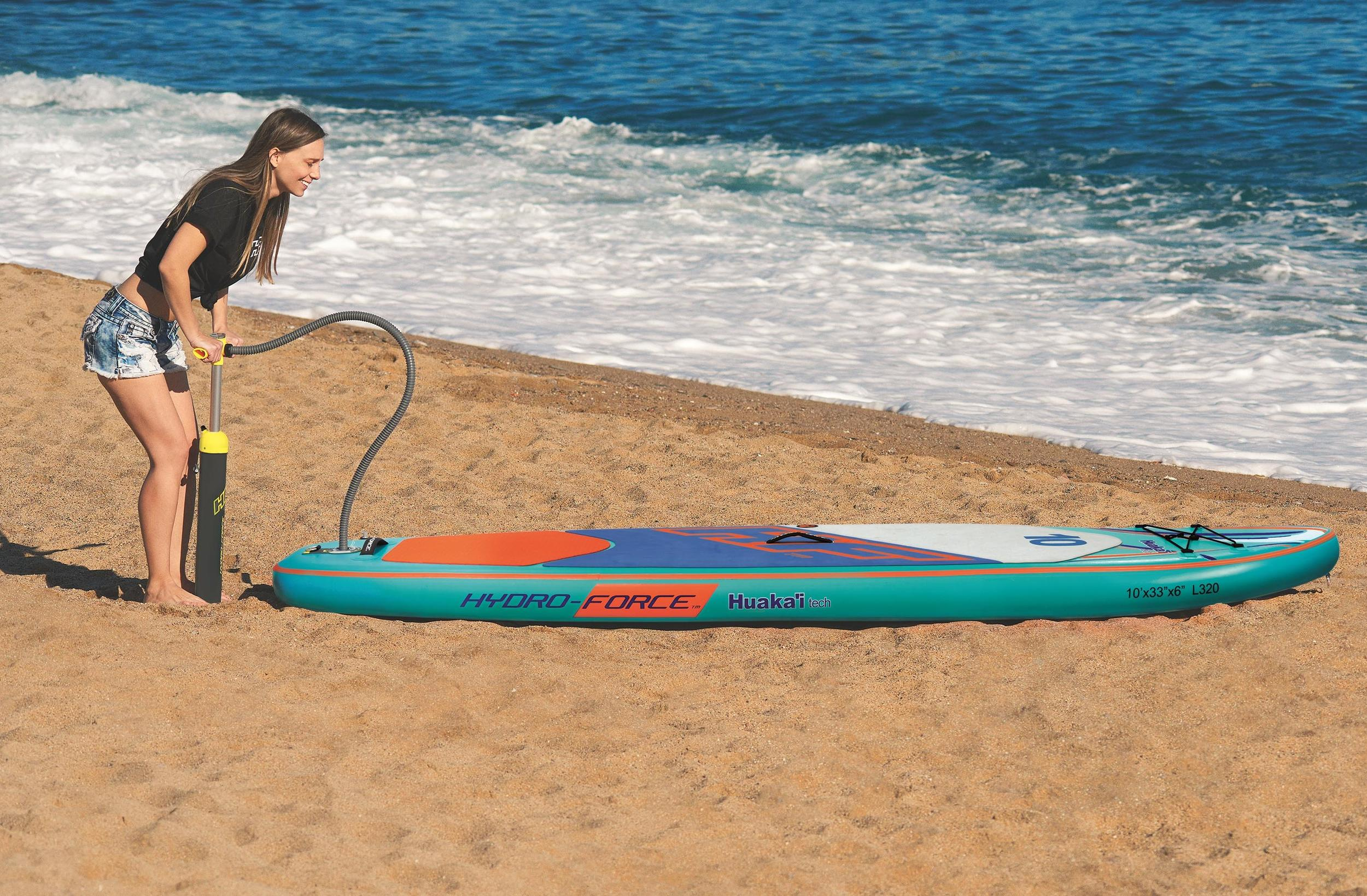 SUP-lauta Bestway Hydro-Force Huaka'i Tech 305x84x15 cm