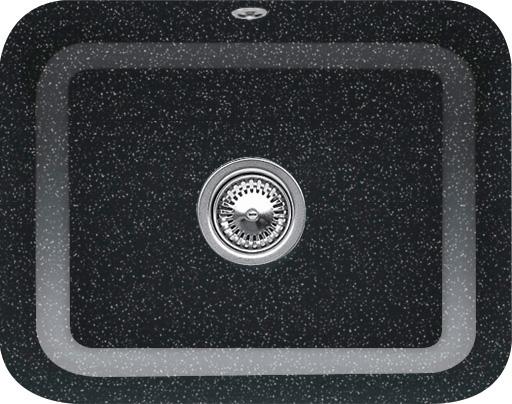 Keittiöallas Villeroy & Boch Cisterna 60 C Chromit metallinhohto musta Ce