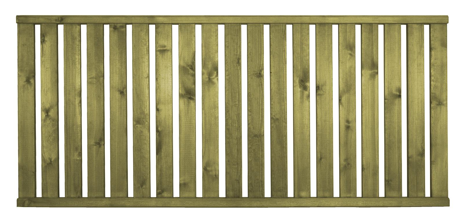 Aitaelementti Jämäkkä A51 1800x800 mm pystypuu 28x70 mm vihreä