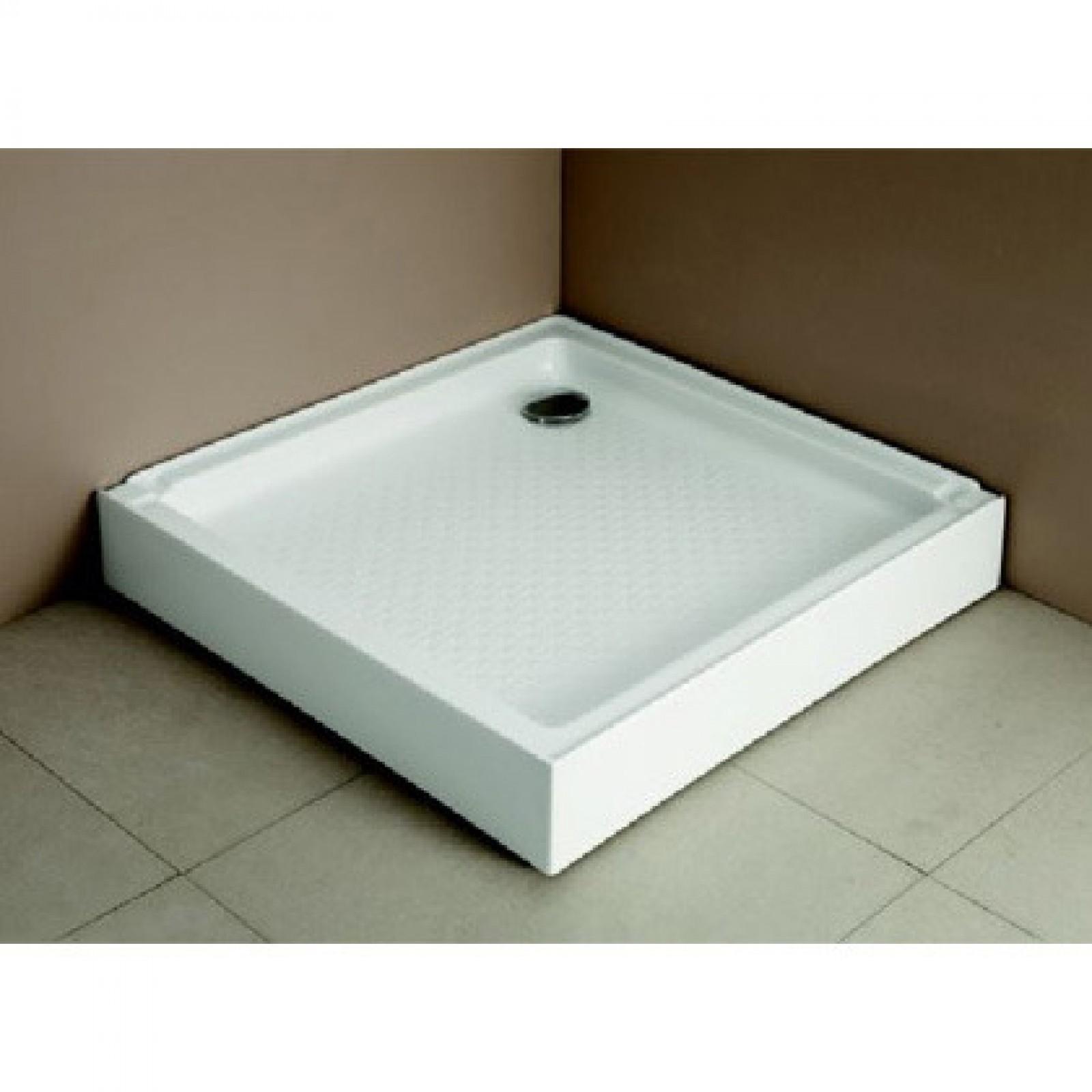 Allas Breve suihkunurkkaukselle 80x80x14 cm valkoinen  Työkalut netistä