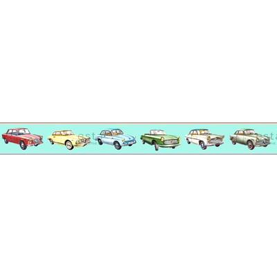 Boordi PhotowallXL Cars 158711 4000x232,5 mm