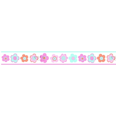 Boordi PhotowallXL Vintage Flowers 158712 4000x232,5 mm