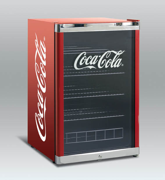Coca-Cola jääkaappi Scancool High Cube 115L