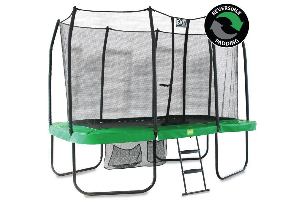 trampoliinin reunapehmuste vihreä