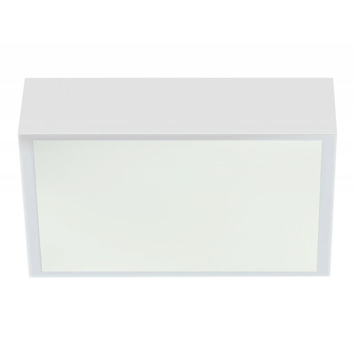 LED-paneelivalo 12W IP44 900LM lasikehyksellä