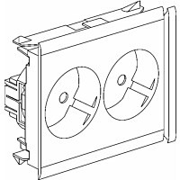 Kanavapistorasia 2-pistorasia