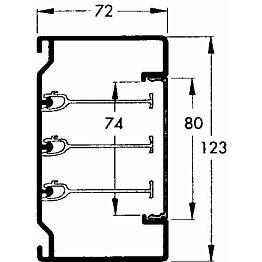 Runko 2.5m U 123 PV