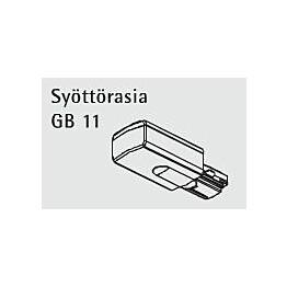 Syöttörasia GB11-3 valkoinen