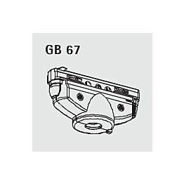 Virranottolaite GB 67-3 valkoinen