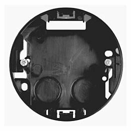 Pinta-asennusrasia 1-osainen kojerasia h=22mm musta