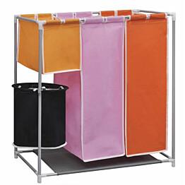 3-osainen pyykkien erottelija pesukorilla_1