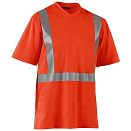 Blåkläder Highvis T-paita, UV-suojattu Oranssi