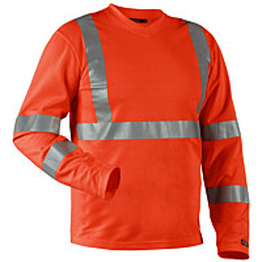 Blåkläder Highvis paita, UV-suojattu Oranssi