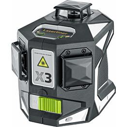 3D-linjalaser Laserliner X3-Laser Pro