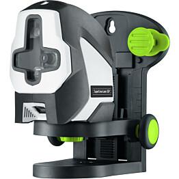 Linjalasersetti Laserliner SuperCross-Laser 2 GP Set, sis. 150cm kolmijalan