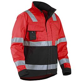 Blåkläder Highvis takki Punainen/Musta