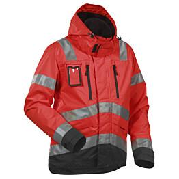 Blåkläder Highvis kuoritakki Punainen/Musta