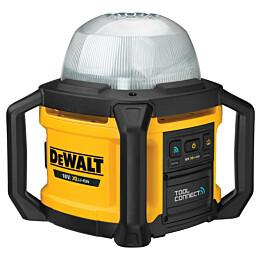 LED-aluevalaisin DeWalt XR DCL074 Tool Connect 18V ilman akkua