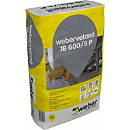 weber.vetonit JB 600/5 P Pakkasjuotosbetoni 25 kg säkki