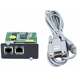 UPS-lisävaruste ABB Powervalue 11 T Mini Winpower SNMP -verkkoliityntäkortti