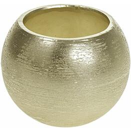 Kynttilä AmandaB Collection Classic, 12x10cm, kulta