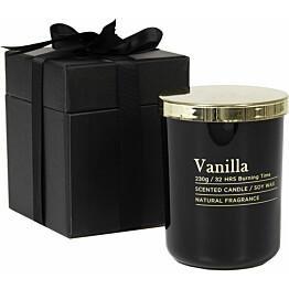 Tuoksukynttilä AmandaB Collection Classic, Vanilla, lahjapakkaus