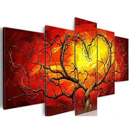 Taulu Artgeist Burning heart, 100x200cm