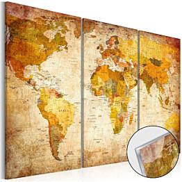 Akryylilasitaulu Artgeist Antique Journeys eri kokoja