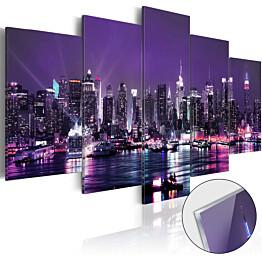 Akryylilasitaulu Artgeist Purple Sky eri kokoja