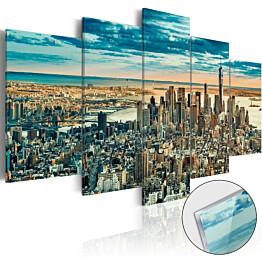 Akryylilasitaulu Artgeist NY: Dream City eri kokoja