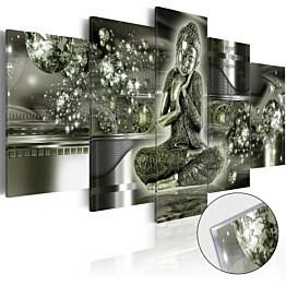 Akryylilasitaulu Artgeist Emerald Buddha eri kokoja