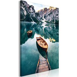 Taulu Artgeist Boats In Dolomites eri kokoja