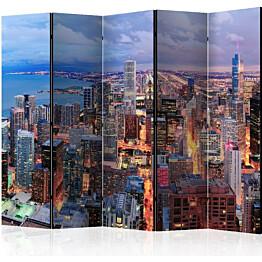 Sermi Artgeist Illuminated Chicago II 225x172cm