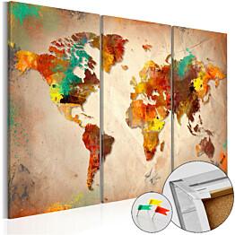 Korkkitaulu Artgeist Painted World eri kokoja