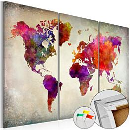 Korkkitaulu Artgeist Mosaic of Colours eri kokoja