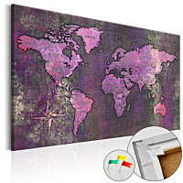 Korkkitaulu Artgeist Amethyst Map eri kokoja