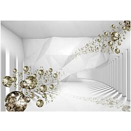 Sisustustarra Artgeist Diamond Corridor II eri kokoja
