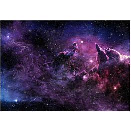 Sisustustarra Artgeist Purple Nebula eri kokoja