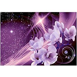 Sisustustarra Artgeist Purple Milky Way eri kokoja