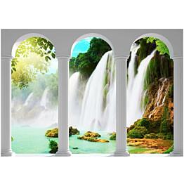 Sisustustarra Artgeist Waterfall eri kokoja