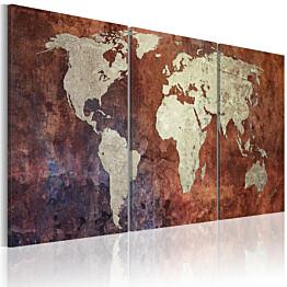 Taulu Artgeist Metalliset mantereet, eri kokoja