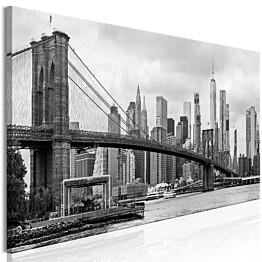 Taulu Artgeist Road to Manhattan Black and White, 1-osainen, kapea, eri kokoja