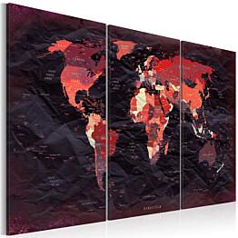 Taulu Artgeist Plan of the World, eri kokoja
