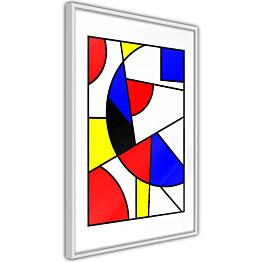 Juliste Artgeist Abstraction De Stijl kehyksillä eri kokoja