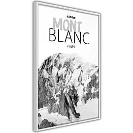 Juliste Artgeist Mont Blanc kehyksillä eri kokoja