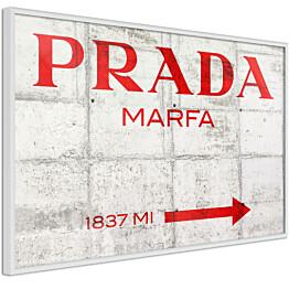 Juliste Artgeist Prada Concrete kehyksillä eri kokoja
