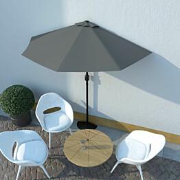 Aurinkovarjo ulkotiloihin alumiinitanko 270x135cm_1