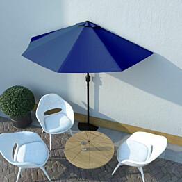 Aurinkovarjo ulkotiloihin alumiinitanko 270x135x245 cm_1
